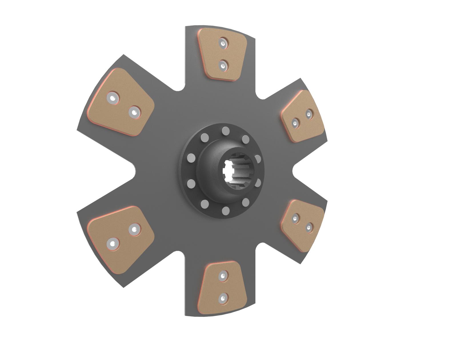Debriyaj diski 6 ped