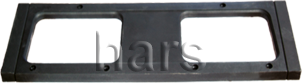ÖN PANJUR KISA TİP (PLASTİĞİ) 65 X 55 cm